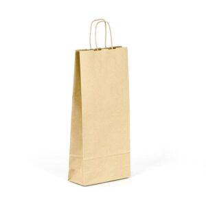 Bolsa de papel para 2 botellas
