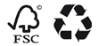 cuño fsc + reciclado