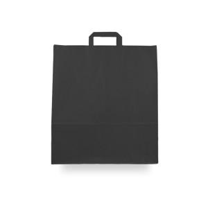 Bolsas de papel asa plana 40x15x45 negro