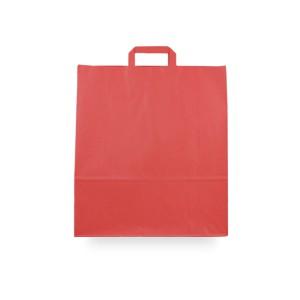 Bolsas de papel asa plana 40x15x45 rojo