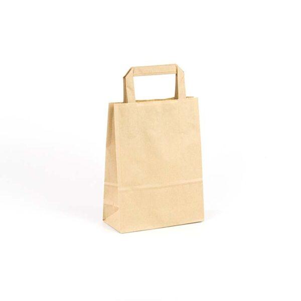 Bolsas de papel asa plana 18x08x24 avana