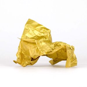 papel de seda oro metalizado