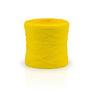 Rafia sintética color amarilla