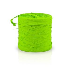 Rafia sintética color verde pistacho