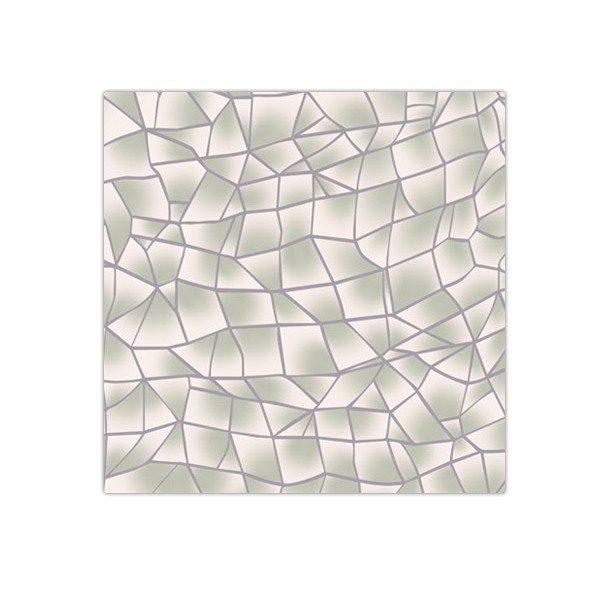 Bobina de papel de regalo barato blanco mosaico