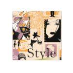 Bobina de papel de regalo barato con diseño fashion