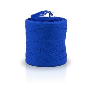 Rafia sintética color azul oscuro