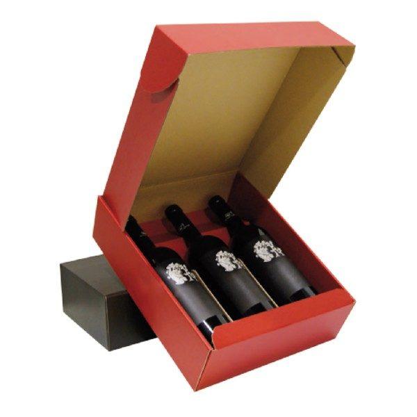 Cajas para botellas Modelo Sicilia