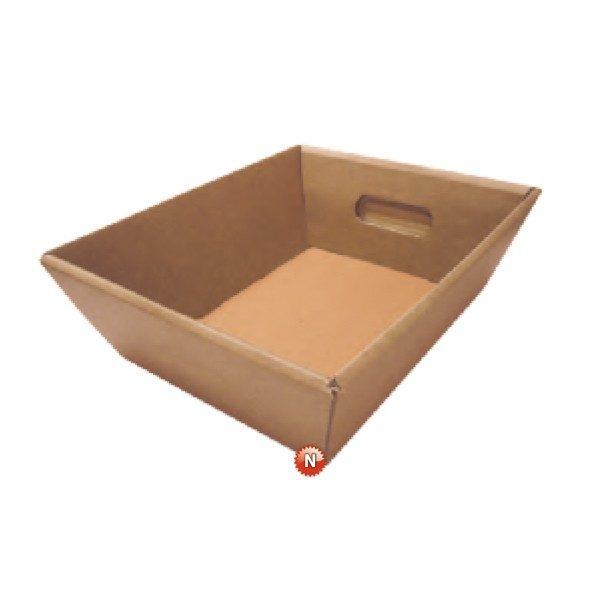 Cestas de cartón grandes para productos gourmet 45,5x32,8x13,20