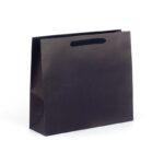 Bolsas de lujo grandes asa cinta de algodón 42x13x37 negra