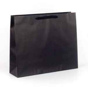 Bolsas de lujo grandes 54x14x45 negra asa cinta de algodón