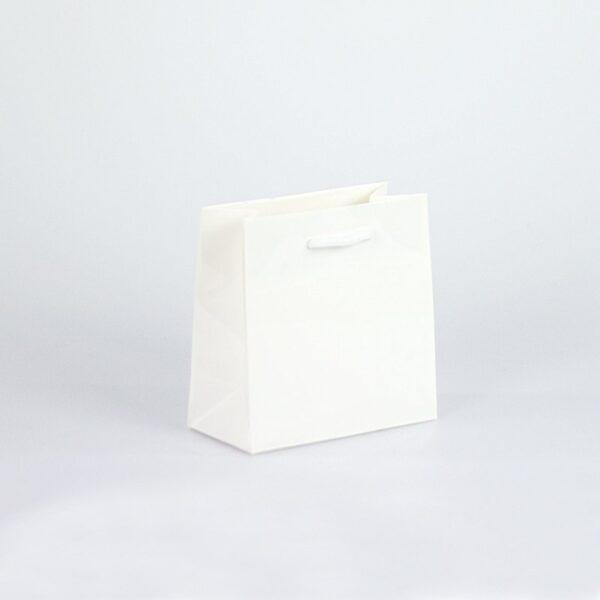 Bolsas de lujo 14x07x14 pequeñas plastificado brillo