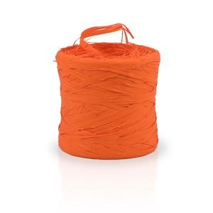 Ráfia sintética color naranja