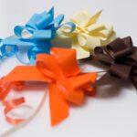Lazos automáticos papel sintético pequeños 14 mm