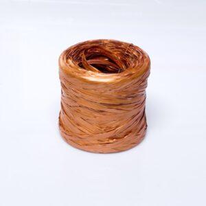 Rafia sintética color cobre
