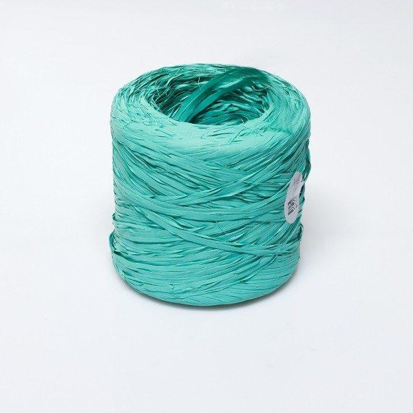 Rafia sintética color aqua