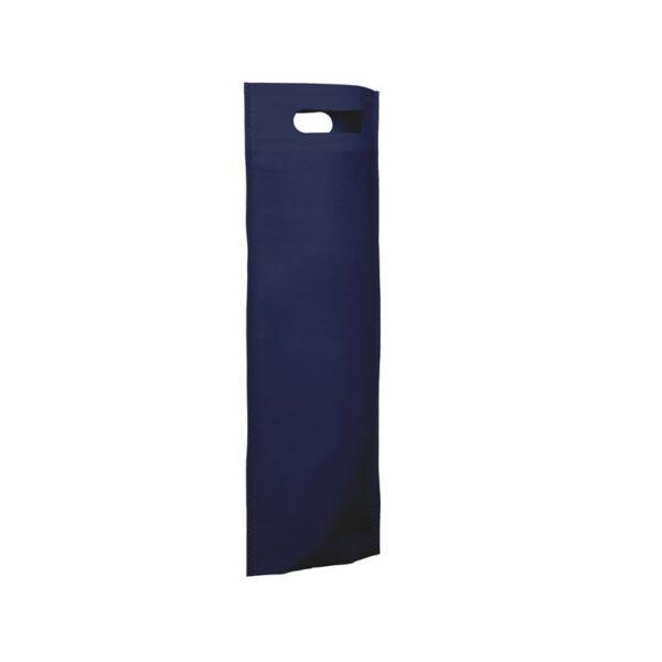 bolsa de tela para botellas - azul