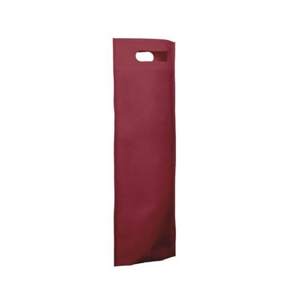 bolsa de tela para botellas - granate