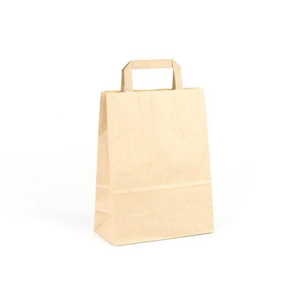 Bolsas de papel asa plana 22x10x29