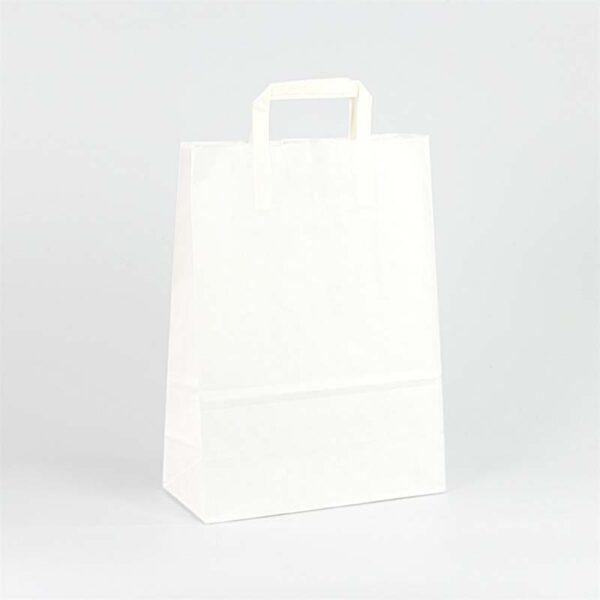 Bolsas de papel asa plana 27x12x37