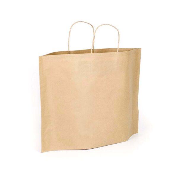 bolsas de papel baratas económicas bbags 36+10x27 avana
