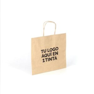 Bolsas de papel bbags personalizada 30+10x25 avana