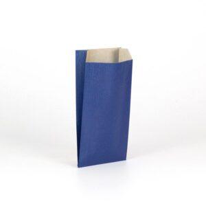 Sobres de papel kraft para regalo 11x21+5 azul