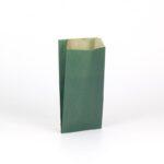 Sobres de papel kraft para regalo 11×21+5 verde