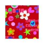 Bobina de papel de regalo flowers colours emotion