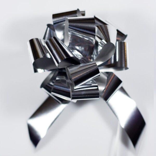 Pompon automático metalizado de 48 mm