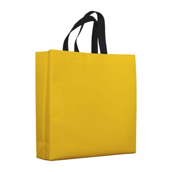 bolsas de tela mate 38x10x40 amarilla