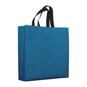 bolsas de tela mate 38x10x40 azul