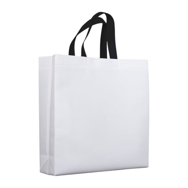 bolsas de tela mate 38x10x40 blanca