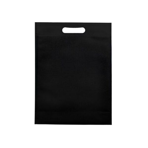 Bolsas de tela asa troquelada 20x30+10