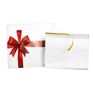 Sobres para regalo diseño lazo navidad 35x25 cms