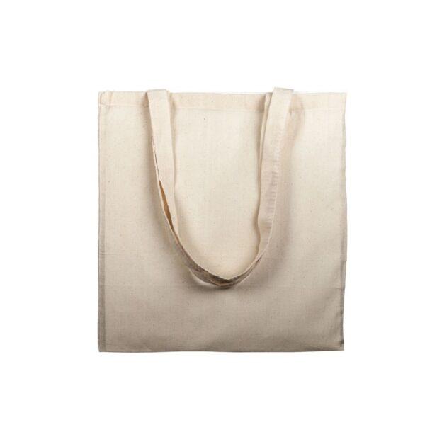 Bolsa de algodón 120 grs asa larga