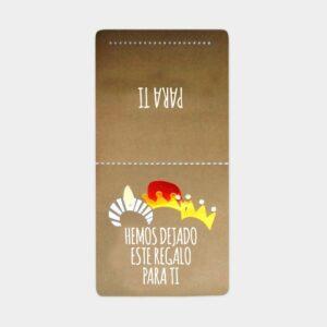 Etiquetas adhesivas cierra bolsas Reyes Magos