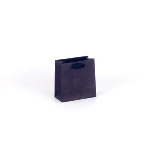 Bolsas de lujo pequeñas asa cinta 14x7x14 negra