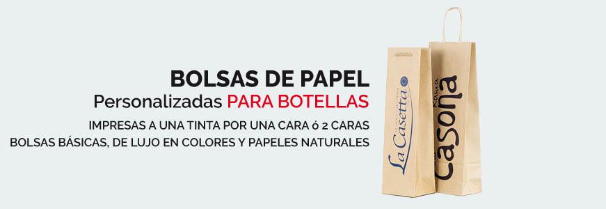 banner bolsas personalizadas para botellas