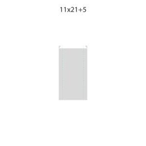 Dibujo bolsa sobre para regalo medida 11x21+5