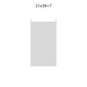 Dibujo bolsa sobre para regalo medida 21x38+7