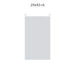 Dibujo bolsa sobre para regalo medida 24×43+6