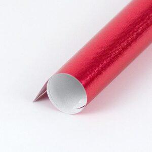 papel de regalo metalizado colores rojo