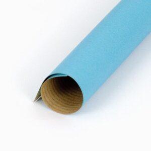 Bobina papel kraft turquesa para regalo