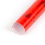 papel de regalo rojo con dibujos de rosas económico 091903 b