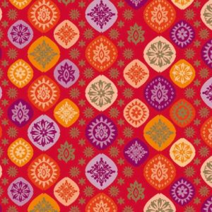 papel de regalo con dibujo de flores Indú 146203100