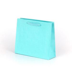 bolsa de lujo pequeña asa cinta 24x8x20 turquesa