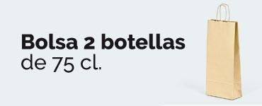Bolsas para dos botellas de vino