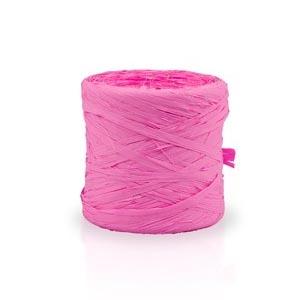Ráfia sintética color rosa