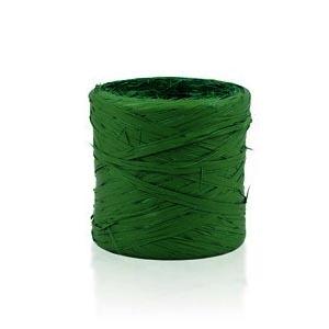 Rafia sintética verde oscuro